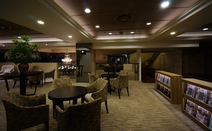LOUNGE AREA-2: 株式会社DESIGN STUDIO CROWが手掛けたホテルです。