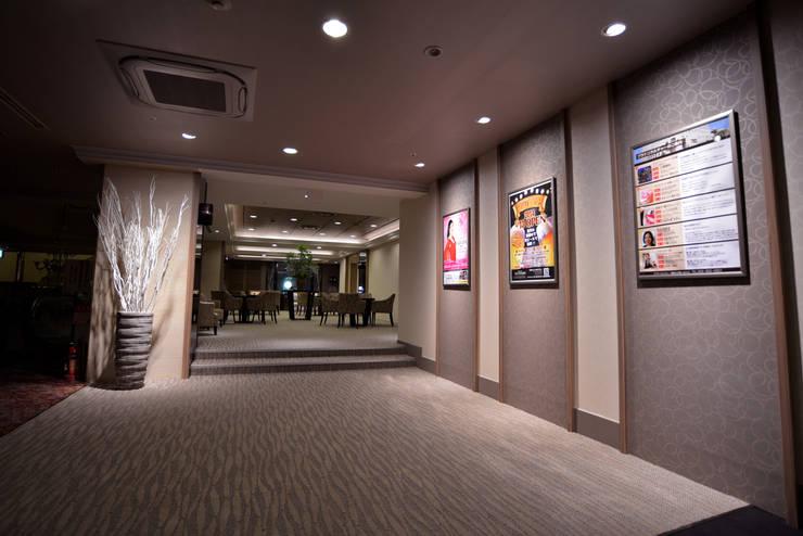 GALLERY AREA: 株式会社DESIGN STUDIO CROWが手掛けたホテルです。