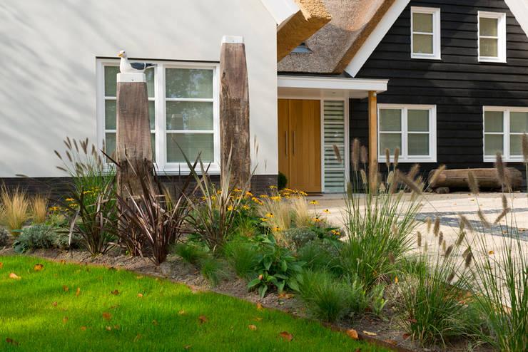 duinvilla exterieur 1:  Huizen door burosalt, Landelijk