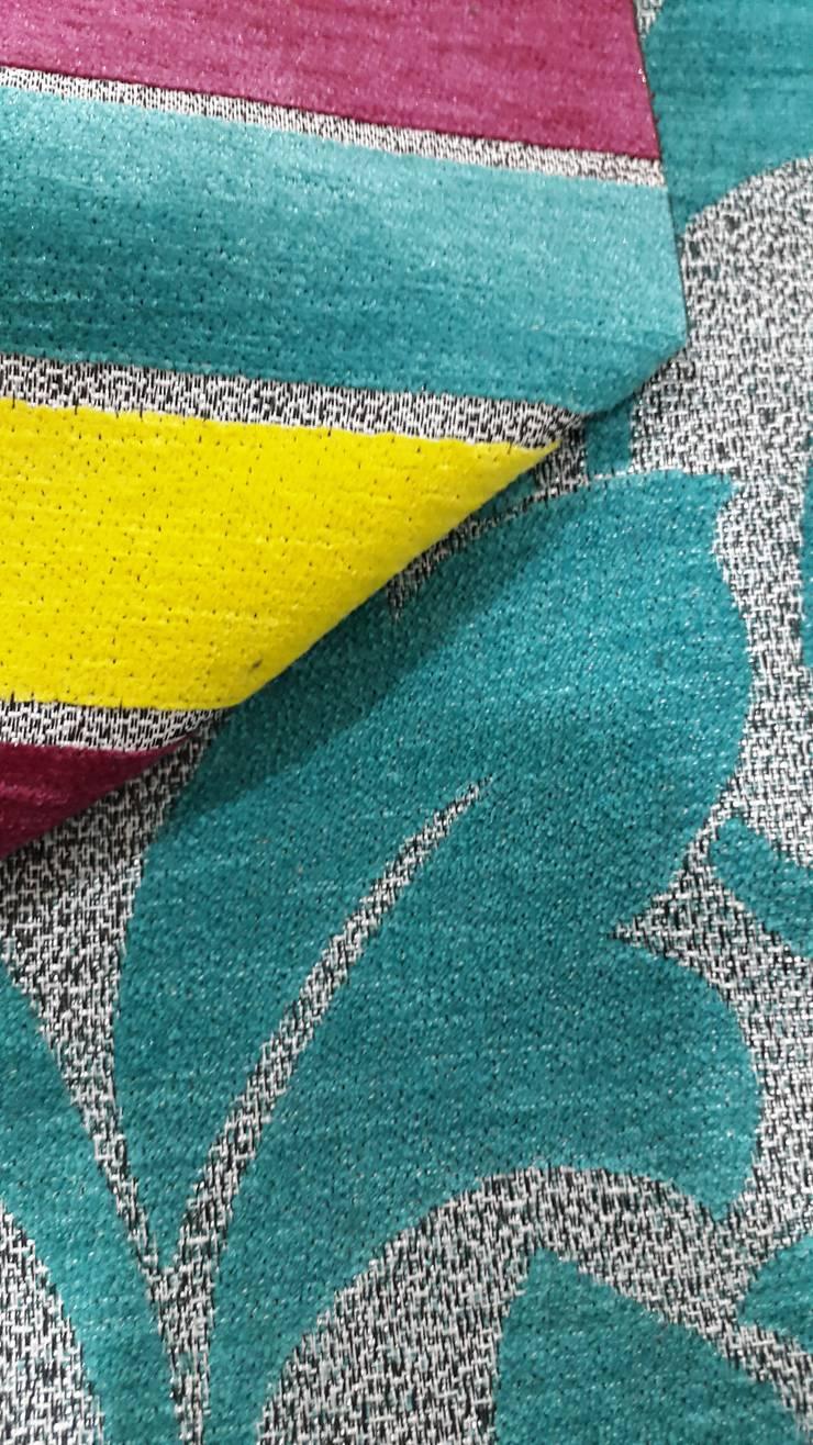 Texturas: Hogar de estilo  por decoplas textil