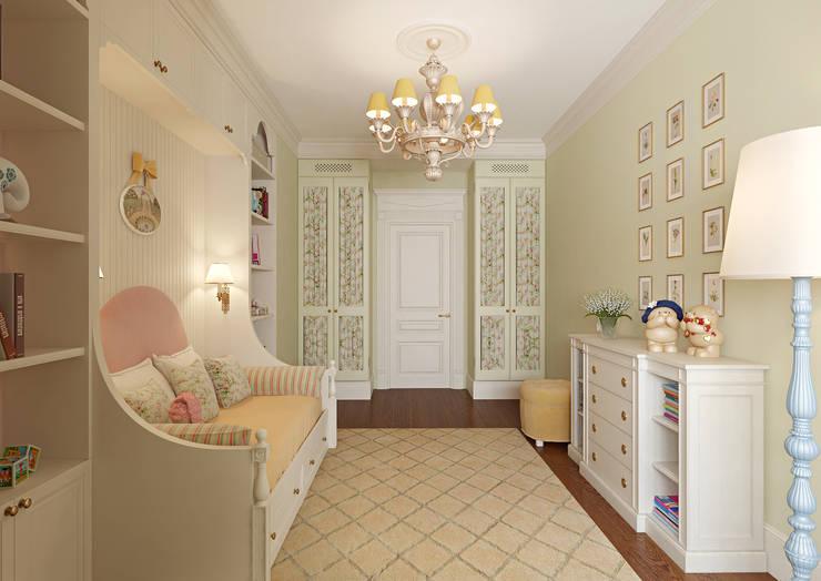 Квартира на Весковском переулке: Детские комнаты в . Автор – MARION STUDIO