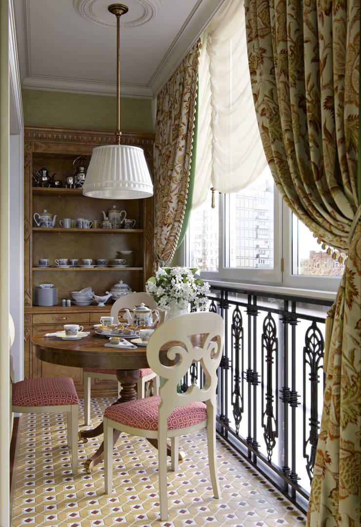 Квартира в ЖК на Гиляровского: Гостиная в . Автор – MARION STUDIO