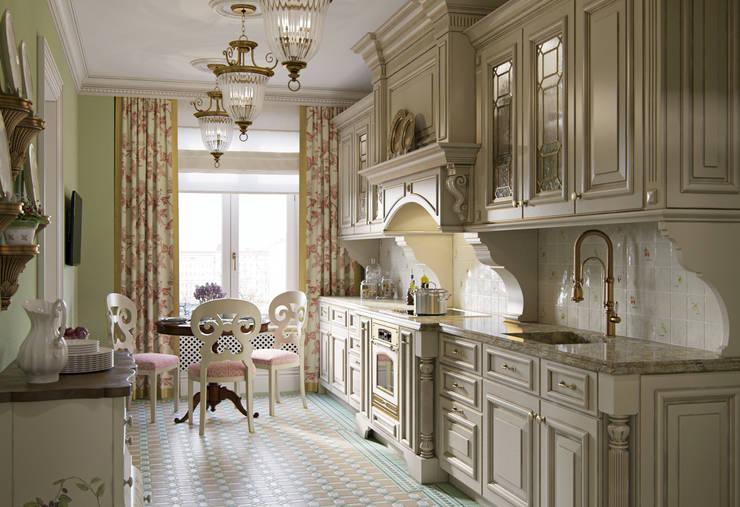 Квартира в ЖК на Гиляровского: Кухни в . Автор – MARION STUDIO