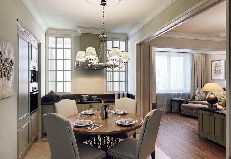 Квартира на Проспекте Мира: Кухни в . Автор – MARION STUDIO