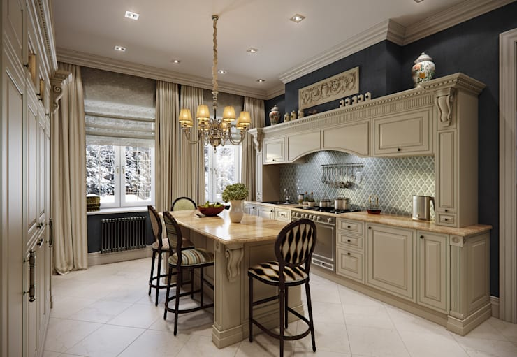 classic Kitchen by MARION STUDIO
