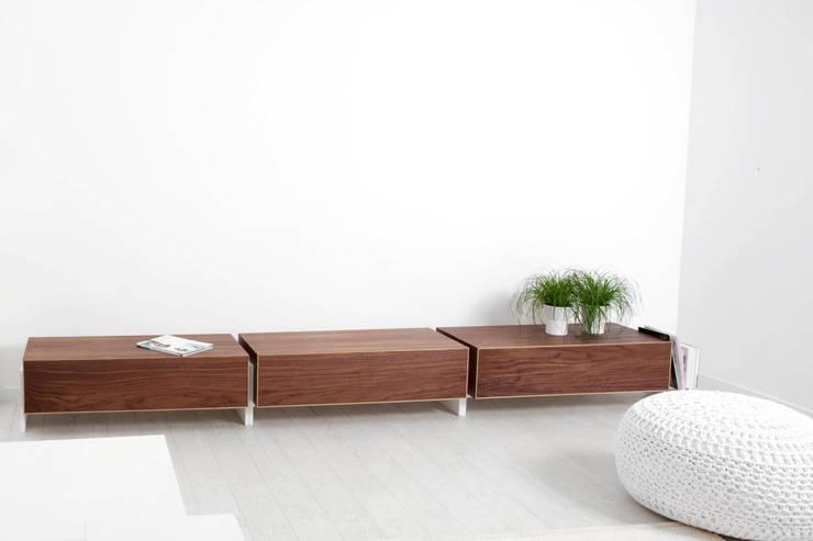 Composição com módulos Block: Casa  por Boa Safra