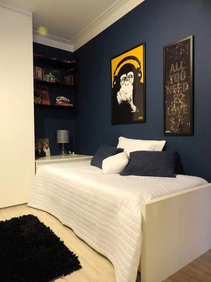 Rock Your Room Quarto infantil eclético por Studio Olga Eclético