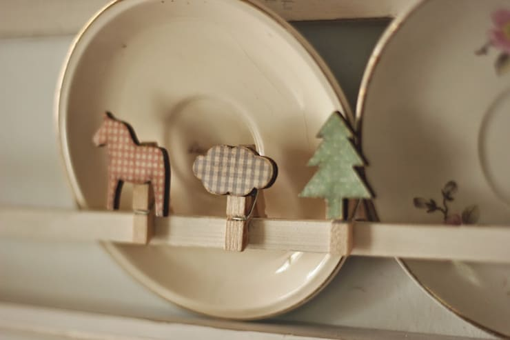 My Vintage Kitchen: Hogar de estilo  por La Maison Boop!