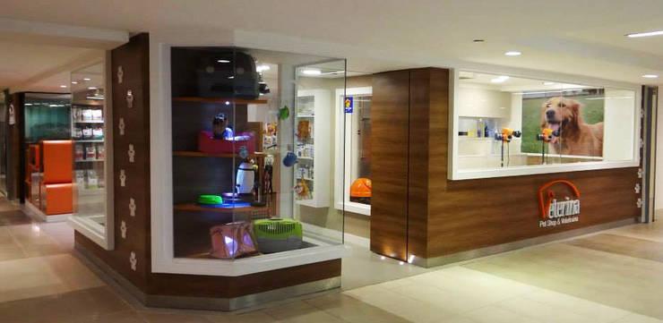 Veterina Pet Shop – SP: Espaços comerciais  por PdP Arquitetura