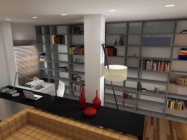 Residência Granja Viana – SP: Escritórios  por PdP Arquitetura