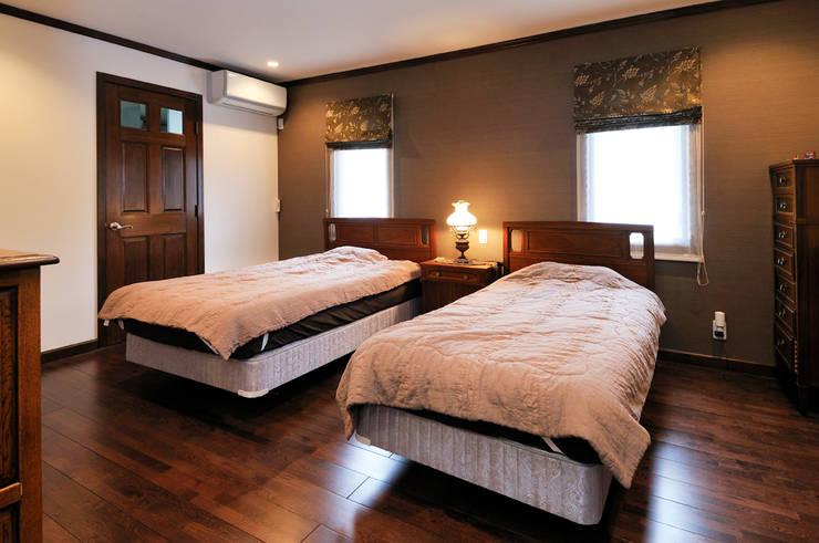 施工事例5: ㈱K2一級建築士事務所が手掛けた寝室です。