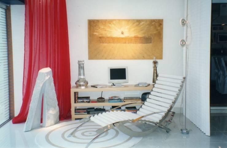 Sincretismo: Salas de estar ecléticas por CMSP Arquitetura + Design