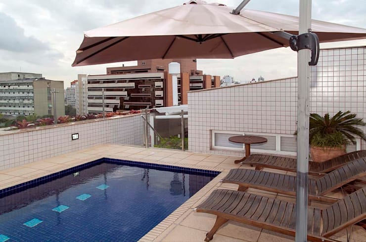 Terrace by CMSP Arquitetura + Design