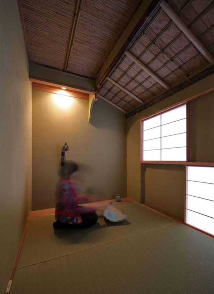 kyo-Machiya mon amour 第一作品: シィエル・ルージュ・クレアシオン(CRC)が手掛けたスパ・サウナです。