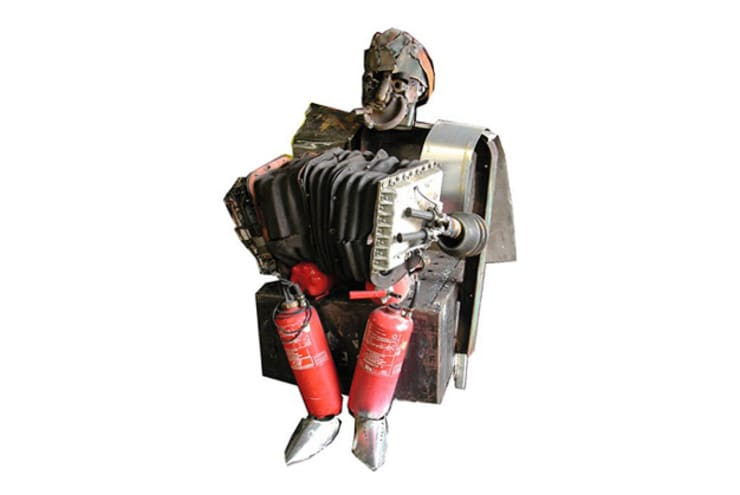 Cuadros y esculturas: Hogar de estilo  por Carlos Regazzoni