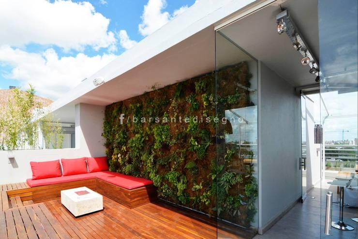 FORUM PUERTO NORTE : Casas de estilo moderno por Barsante Disegno