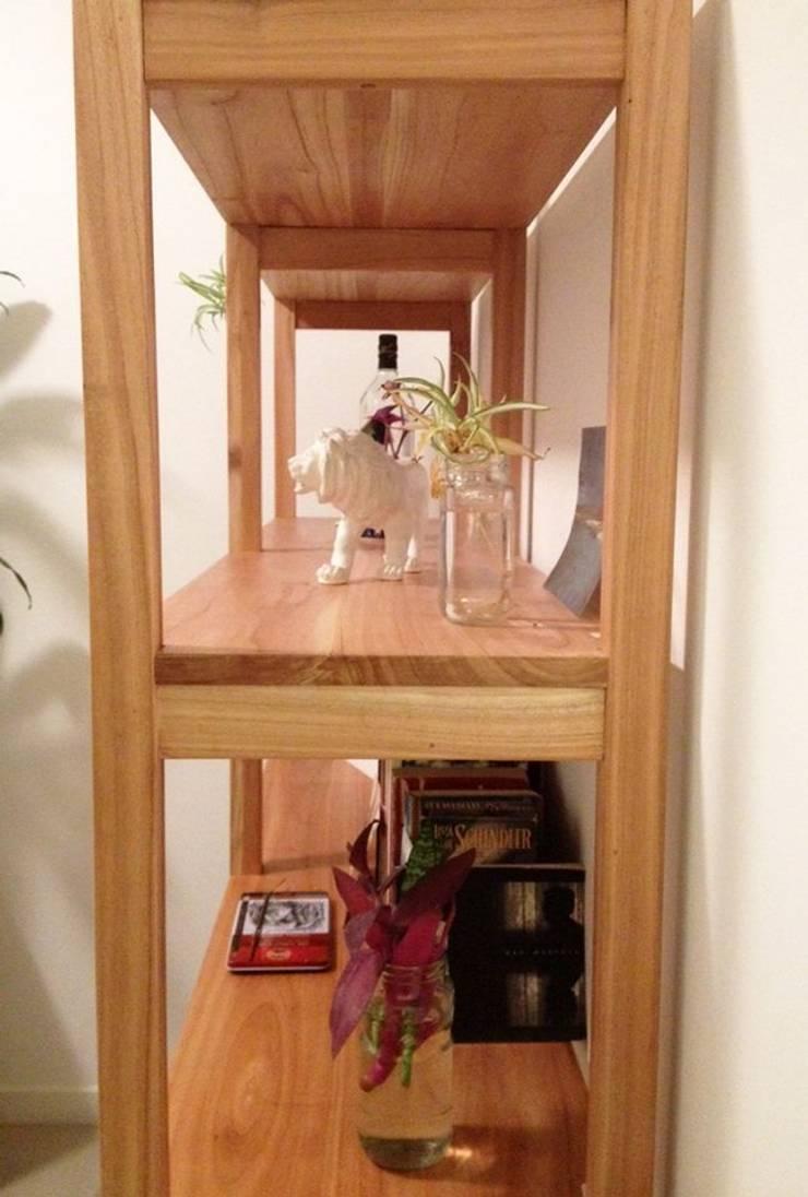 Muebles de madera by Paraíso: Livings de estilo moderno por muebles paraíso