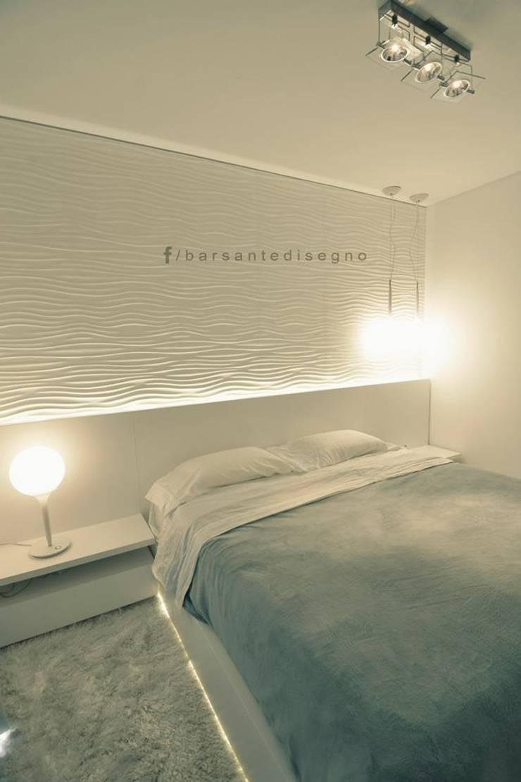 FORUM PUERTO NORTE : Dormitorios de estilo moderno por Barsante Disegno