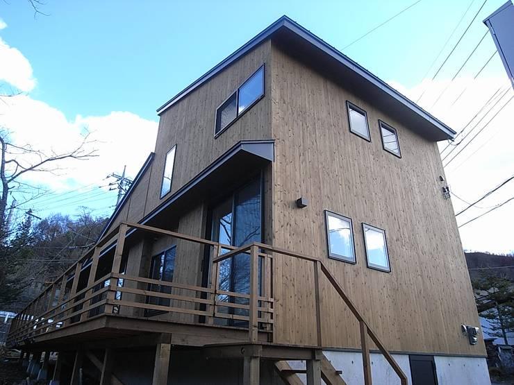 外観: Unico design一級建築士事務所が手掛けた家です。,