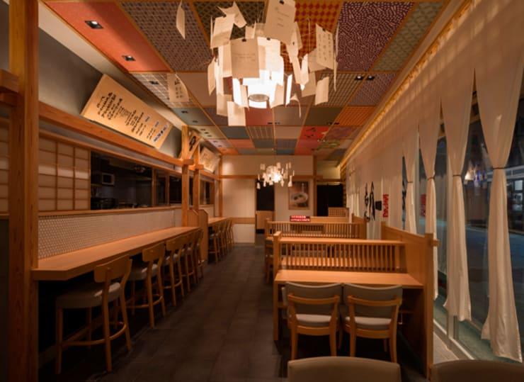 Gastronomía de estilo asiático de Pilot Planning Inc. Asiático