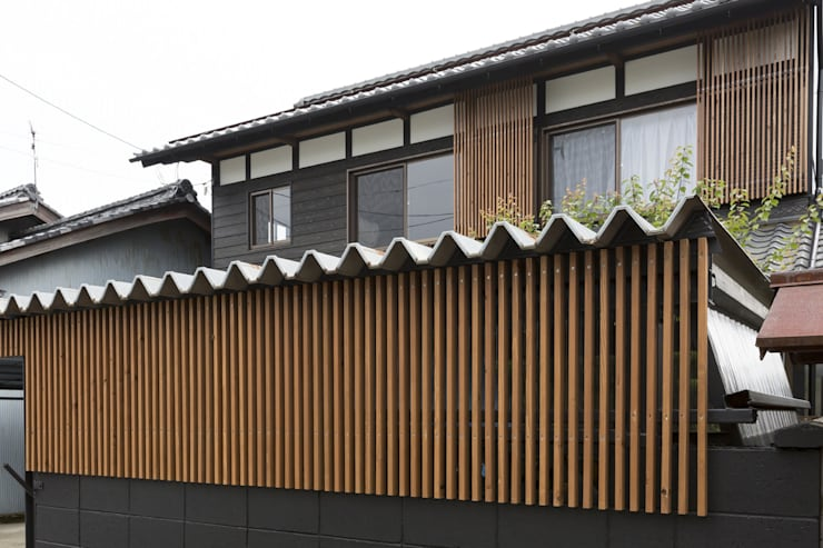 Asian style house by 株式会社 鳴尾工務店 Asian