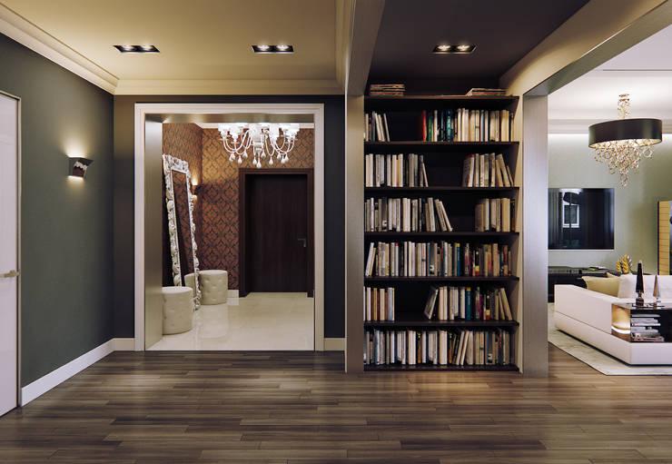 Квартира в ЖК Дом в Хамовниках: Коридор и прихожая в . Автор – MARION STUDIO,