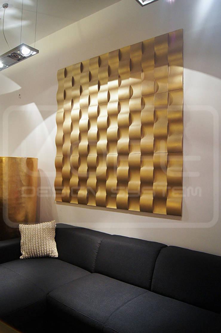 Panele Dekoracyjne 3D - Loft Design System - model Twist: styl , w kategorii  zaprojektowany przez Loft Design System,Nowoczesny