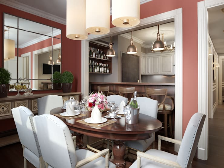Квартира в ЖК Измайловский: Кухни в . Автор – MARION STUDIO
