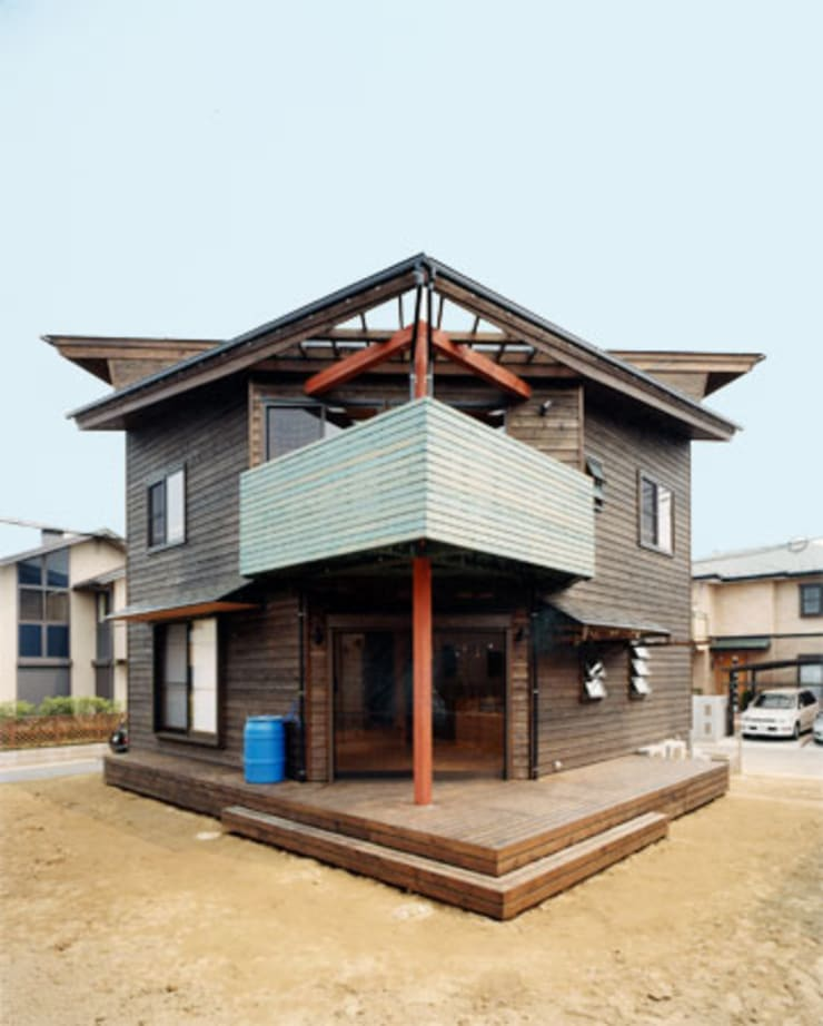 【南側立面】 : 安達文宏建築設計事務所が手掛けた家です。,