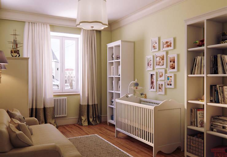 Квартира в ЖК на улице Дружбы: Детские комнаты в . Автор – MARION STUDIO