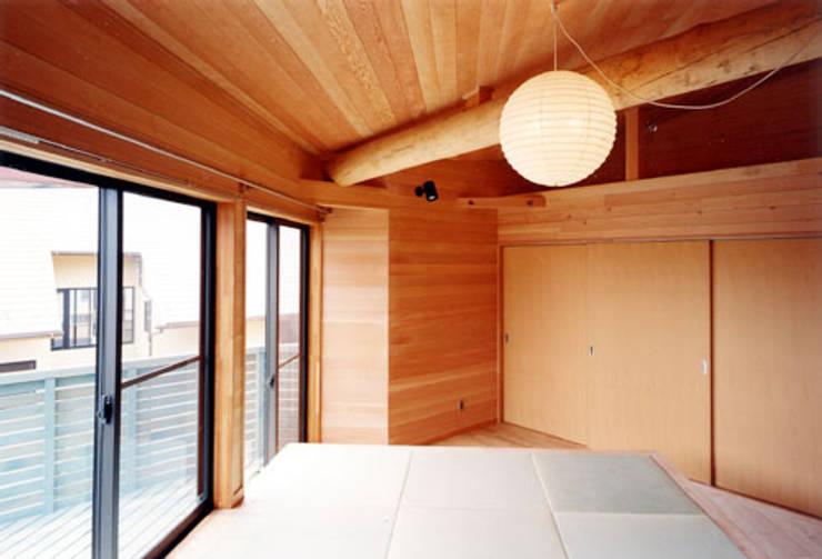 【寝室その2】 : 安達文宏建築設計事務所が手掛けた寝室です。