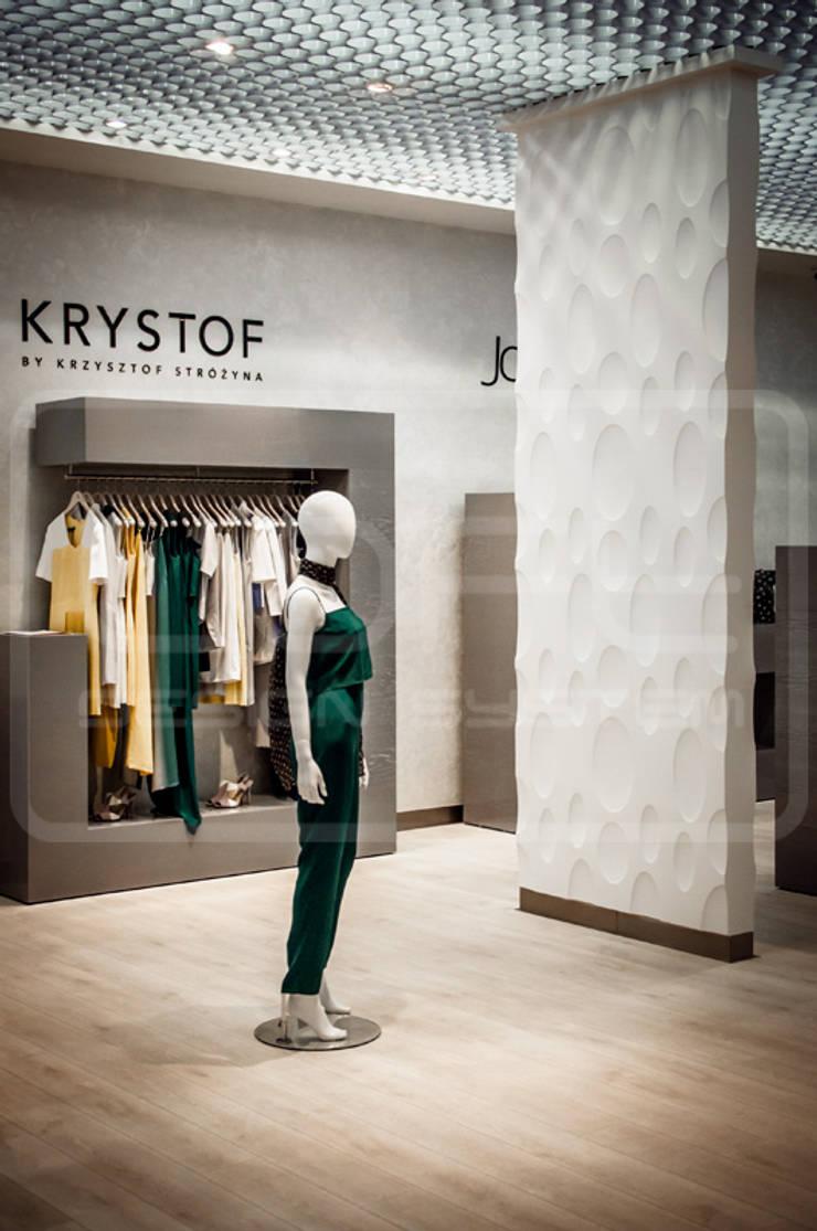 Panele Dekoracyjne 3D - Loft Design System - model Ellipse: styl , w kategorii Ściany i podłogi zaprojektowany przez Loft Design System