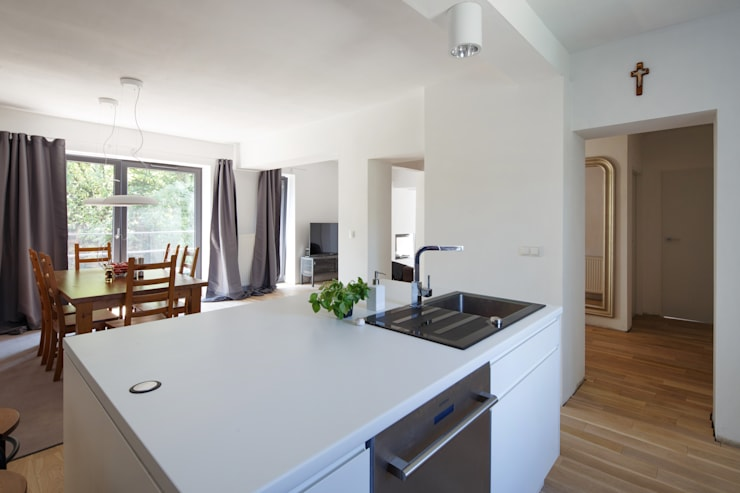 Cocinas de estilo  por Zalewski Architecture Group