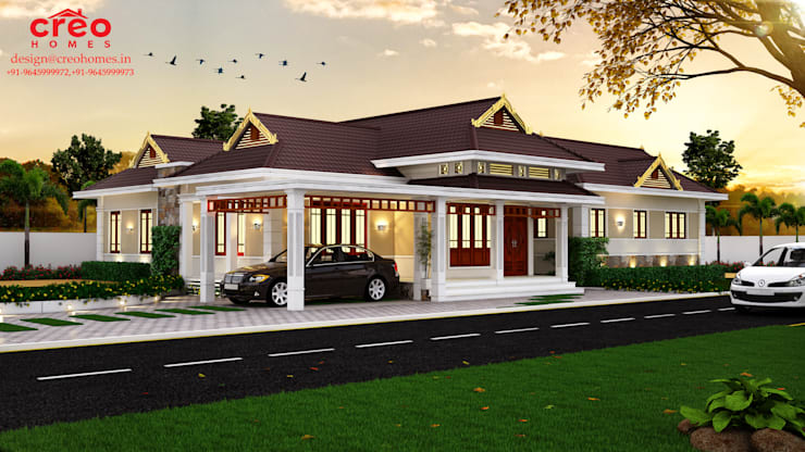 Traditional residence:   by Creo Homes