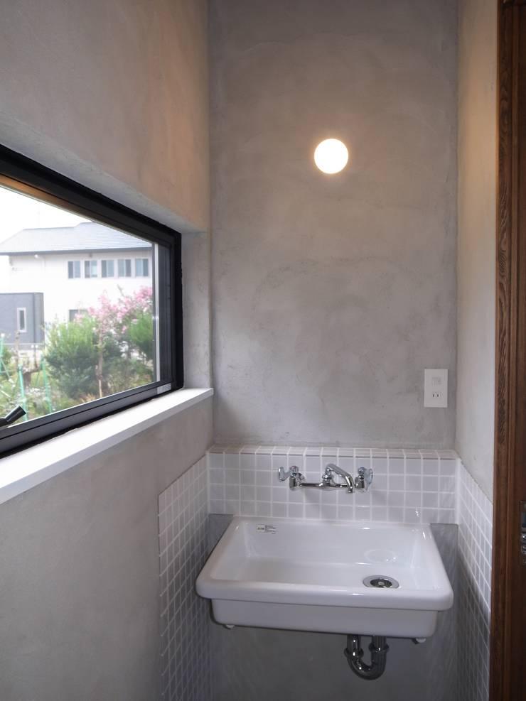 みんなでつくる家: Wats建築デザインが手掛けた浴室です。