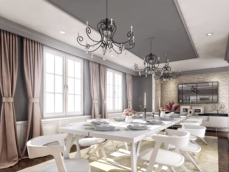 Dining room by VERO CONCEPT MİMARLIK, Modern