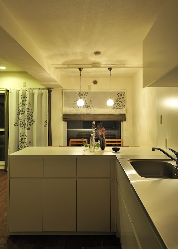 I邸MSリノベ: 株式会社トキメキデザイン・アトリエが手掛けたキッチンです。