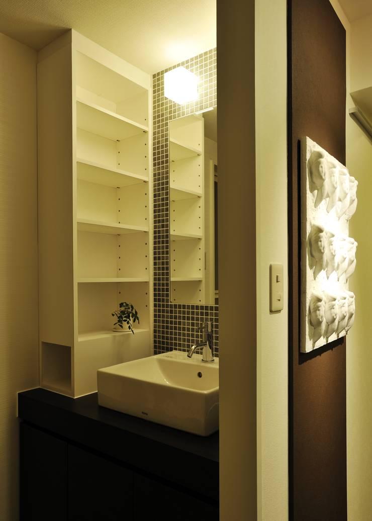 I邸MSリノベ: 株式会社トキメキデザイン・アトリエが手掛けた浴室です。