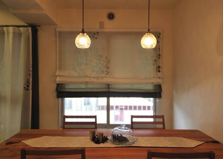 I邸MSリノベ: 株式会社トキメキデザイン・アトリエが手掛けたダイニングです。