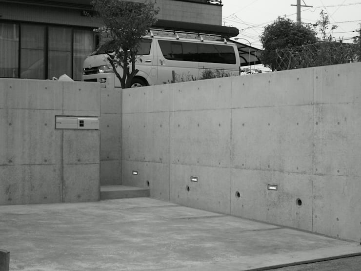 囲む家: Wats建築デザインが手掛けた家です。,オリジナル