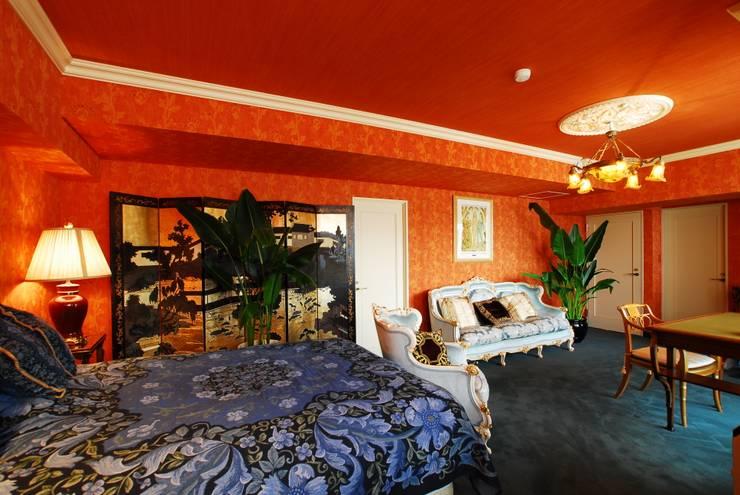 H邸MSリノベ: 株式会社トキメキデザイン・アトリエが手掛けた寝室です。