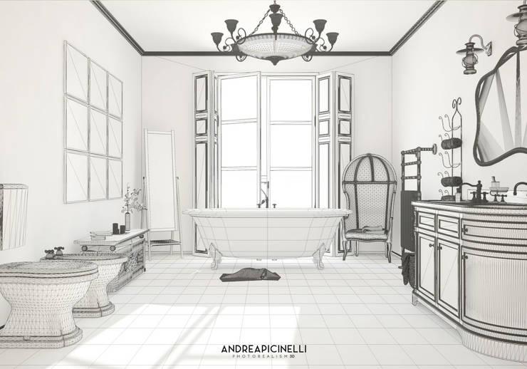 minimalistic Bathroom by Andrea Picinelli