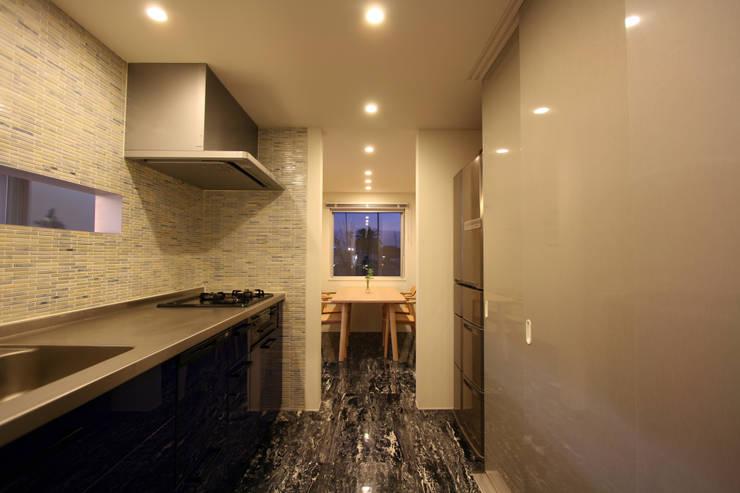 N-SOHO: 有限会社トレック建築設計室 一級建築士事務所が手掛けたキッチンです。,