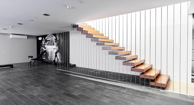 .NESS Reklam ve Fotoğrafçılık – Mera Suites Residence Mekan Çekimi:  tarz Koridor ve Hol