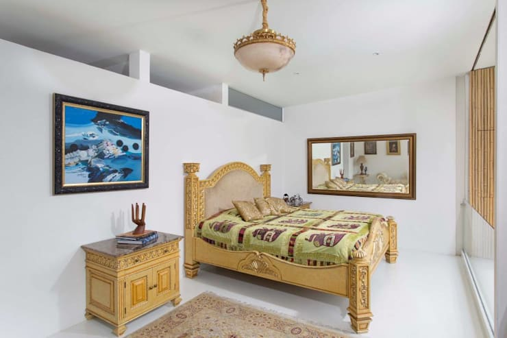 Casa Galeria: Salas de estilo  por Giovanni Moreno Arquitectos