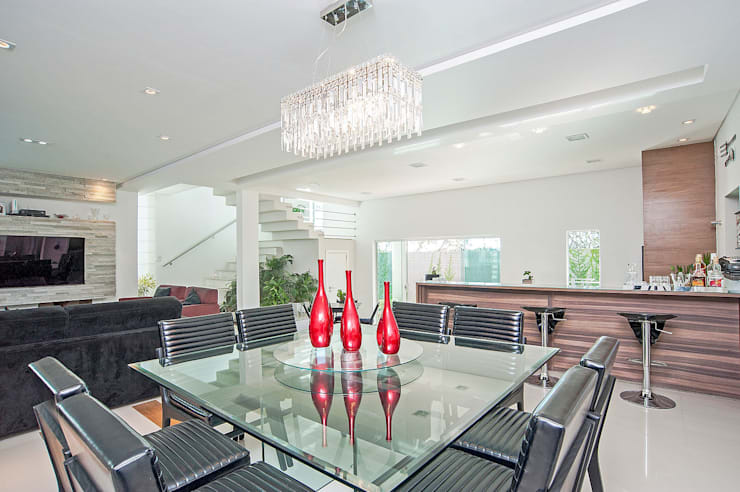 Столовые комнаты в . Автор – Patrícia Azoni Arquitetura + Arte & Design,