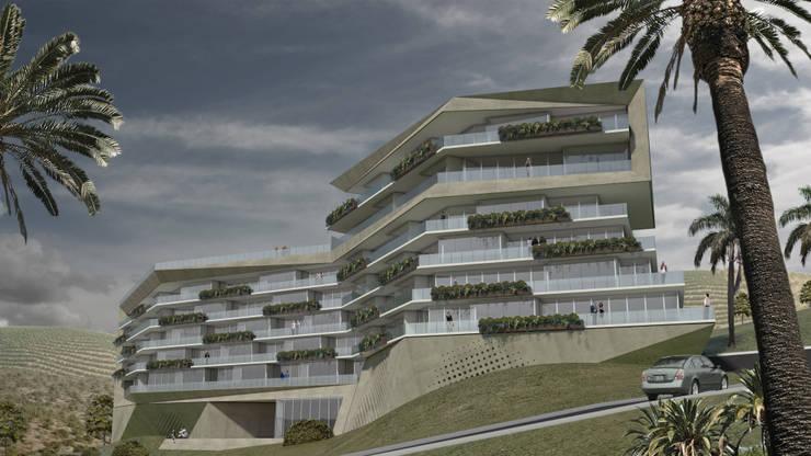 Edificio Valley Casas modernas: Ideas, imágenes y decoración de Brunzini Arquitectos & Asociados Moderno