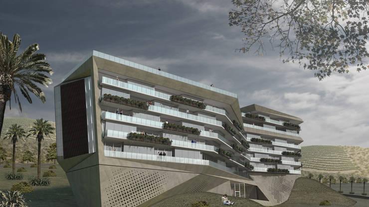 Edificio Valley: Casas de estilo moderno por Brunzini Arquitectos & Asociados