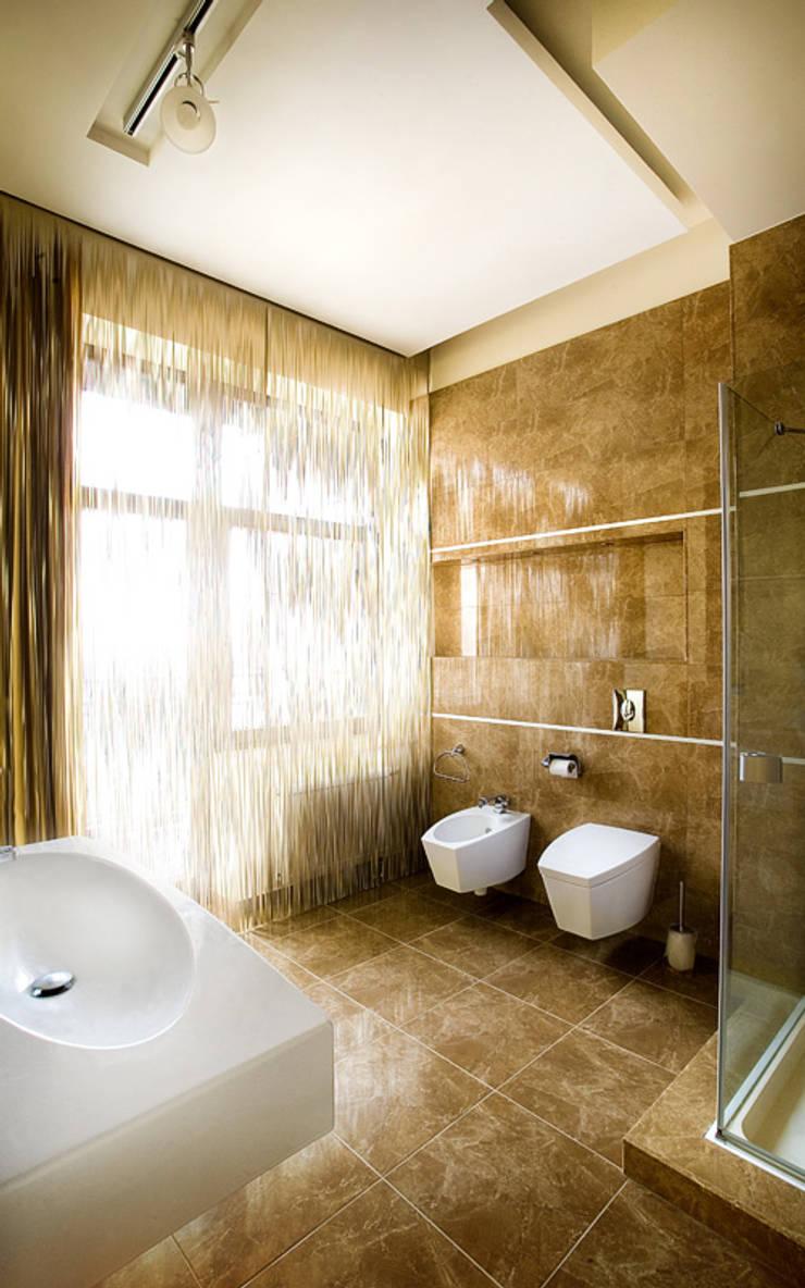 Ванные комнаты в . Автор – kvartalstudio