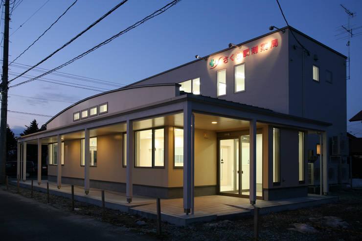 調剤薬局 外観: 吉田設計+アトリエアジュールが手掛けた医療機関です。